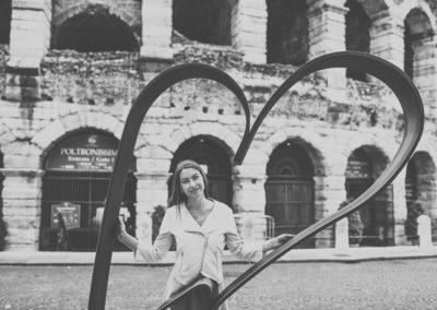 Площадь Бра - Верона город влюблённых