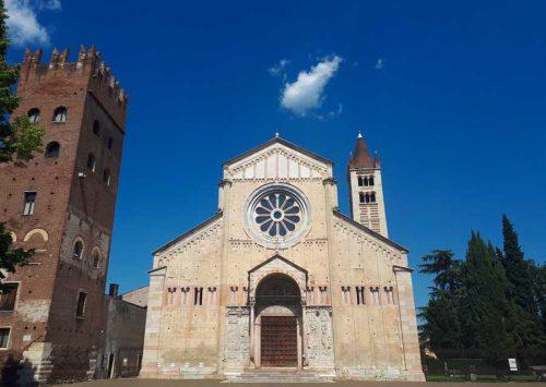 Романская базилика Св.Зинона - Верона