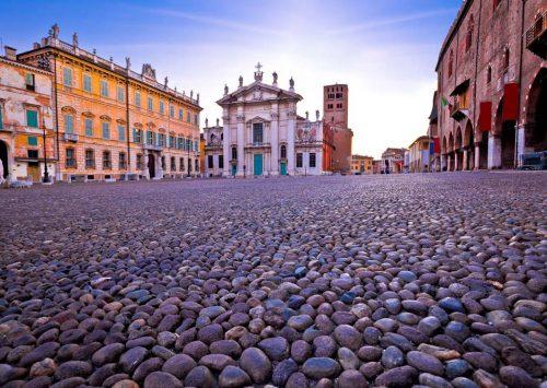 Piazza Sordello, Mantova